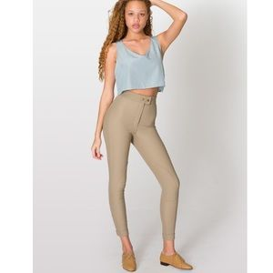 American Apparel Riding Pant Taupe Small